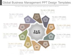 Global Business Management Ppt Design Templates
