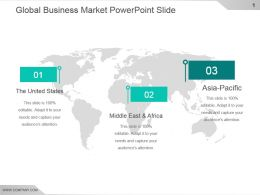 Global Business Market Powerpoint Slide