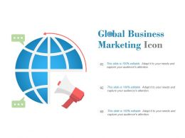 Global Business Marketing Icon