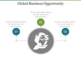 Global Business Opportunity Powerpoint Templates Download