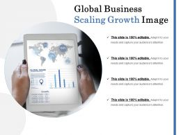 Global Business Scaling Growth Image