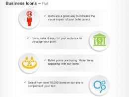 Global Business Solutions Banking Techniques Team Process Control Ppt Icons Graphics