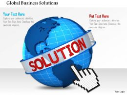 Global Business Solutions Image Graphics For Powerpoint