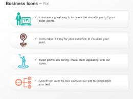 Global Business Solutions Target Selection Flow Chart Ppt Icons Graphics