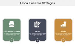Global Business Strategies Ppt Powerpoint Presentation Inspiration Information Cpb