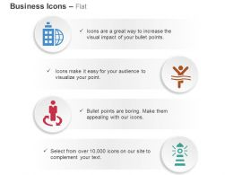 Global Business Strategy Winner Light House Ppt Icons Graphics