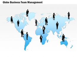 Global Business Team Management Ppt Presentation Slides