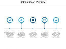 Global Cash Visibility Ppt Powerpoint Presentation Layouts Display Cpb