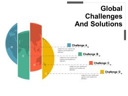 Global Challenges And Solutions Powerpoint Slide Designs