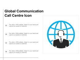 Global Communication Call Centre Icon