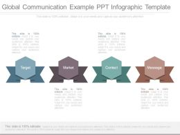 Global Communication Example Ppt Infographic Template
