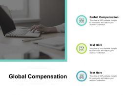 Global Compensation Ppt Powerpoint Presentation Infographics Templates Cpb