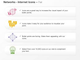 Global Computer Internet Networking Ppt Icons Graphics