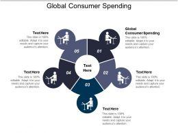 Global Consumer Spending Ppt Powerpoint Presentation Inspiration Good Cpb