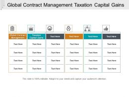 Global Contract Management Taxation Capital Gains Cpb