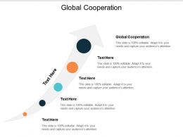 Global Cooperation Ppt Powerpoint Presentation Icon Show Cpb