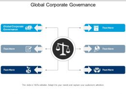 Global Corporate Governance Ppt Powerpoint Presentation Infographic Template Graphic Tips Cpb