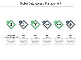 Global Data Access Management Ppt Powerpoint Presentation Summary Graphics Download Cpb