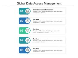 Global Data Access Management Ppt Powerpoint Presentation Template Cpb
