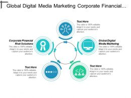 Global Digital Media Marketing Corporate Financial Risk Solutions Cpb