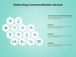 Global Drug Commercialization Services Ppt Powerpoint Presentation File Layout Ideas