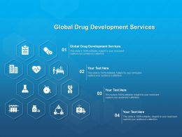Global Drug Development Services Ppt Powerpoint Presentation Outline Example File