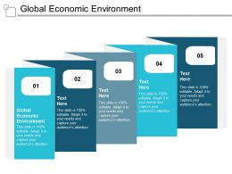Global Economic Environment Ppt Powerpoint Presentation Gallery Graphics Download Cpb