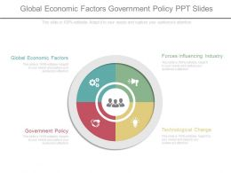 Global Economic Factors Government Policy Ppt Slides