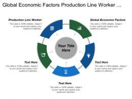 Global Economic Factors Production Line Worker Website Design