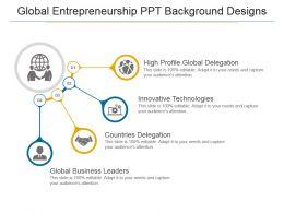 Global Entrepreneurship Ppt Background Designs
