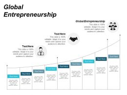 Global Entrepreneurship Ppt Powerpoint Presentation Infographics Ideas Cpb