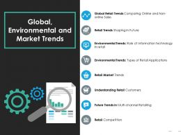 Global Environmental And Market Trends Ppt Summary Background Image