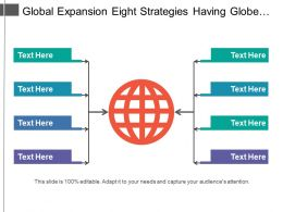 Global Expansion Eight Strategies Having Globe In Center