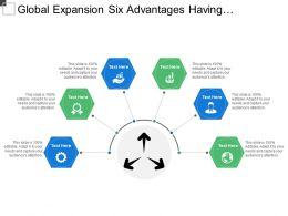 Global Expansion Six Advantages Having Hexagon Shaped