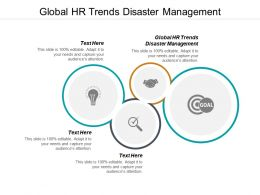 Global HR Trends Disaster Management Ppt Powerpoint Presentation Slides Elements Cpb