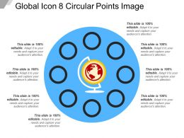 Global Icon 8 Circular Points Image