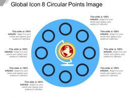 Global Icon 8 Circular Points Image