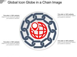 Global Icon Globe In A Chain Image