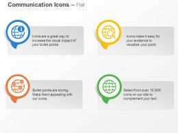 Global Information Searching Locations Network Ppt Icons Graphics