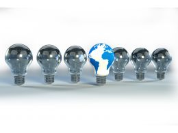 global_innovation_symbol_with_a_glowing_light_bulb_stock_photo_Slide01