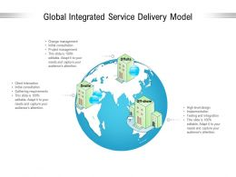 Global Integrated Service Delivery Model
