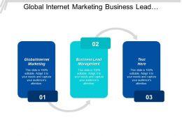 Global Internet Marketing Business Lead Management Customer Segmentation Requirements Cpb