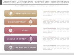 Global Internet Marketing Sample Powerpoint Slide Presentation Sample