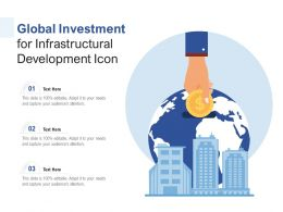 Global Investment For Infrastructural Development Icon