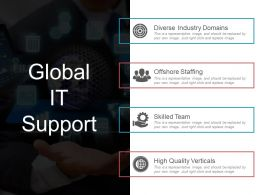 Global It Support Ppt Examples