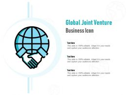 Global Joint Venture Business Icon