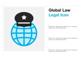 Global Law Legal Icon