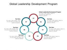 Global Leadership Development Program Ppt Powerpoint Presentation Portfolio Pictures Cpb
