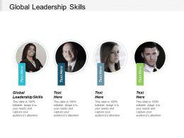 Global Leadership Skills Ppt Powerpoint Presentation Portfolio Show Cpb