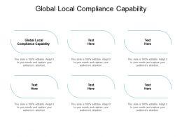Global Local Compliance Capability Ppt Powerpoint Presentation Portfolio Cpb